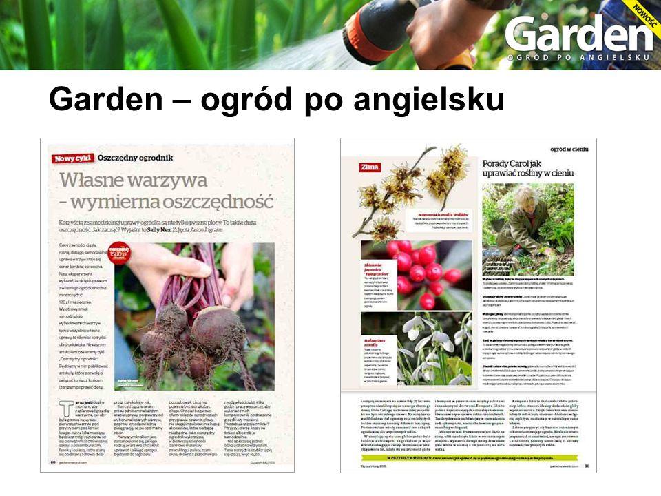 Garden – ogród po angielsku