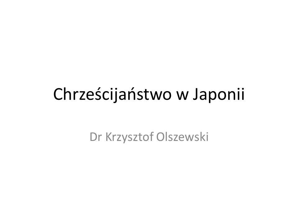 Chrześcijaństwo w Japonii