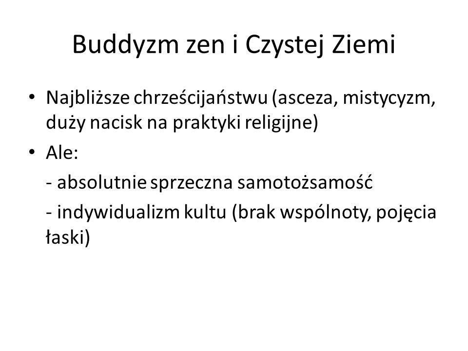 Buddyzm zen i Czystej Ziemi