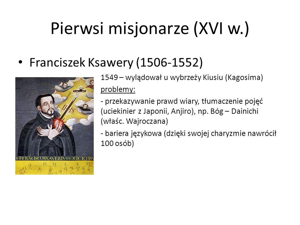 Pierwsi misjonarze (XVI w.)