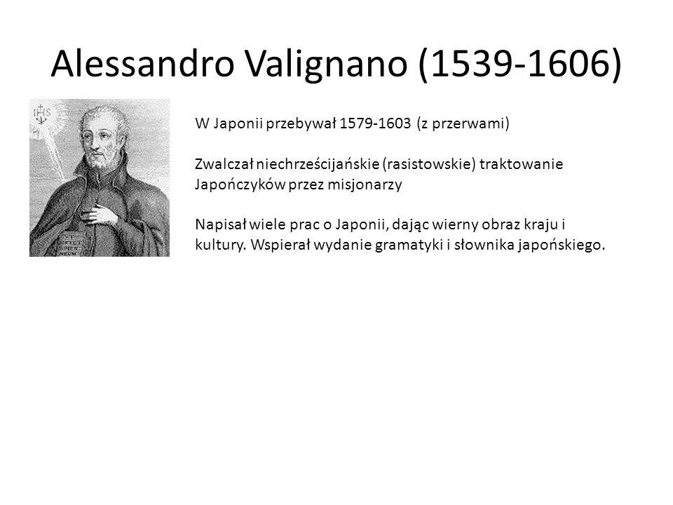 Alessandro Valignano (1539-1606)