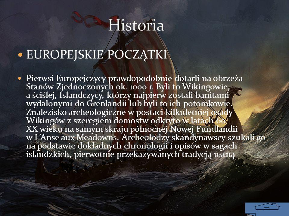 Historia EUROPEJSKIE POCZĄTKI