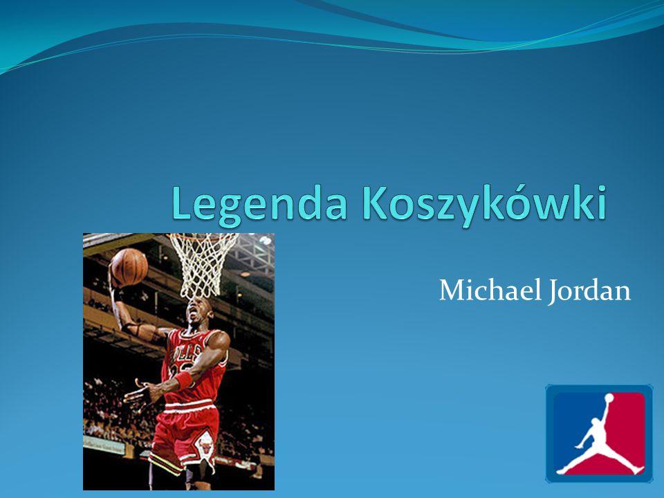 Legenda Koszykówki Michael Jordan