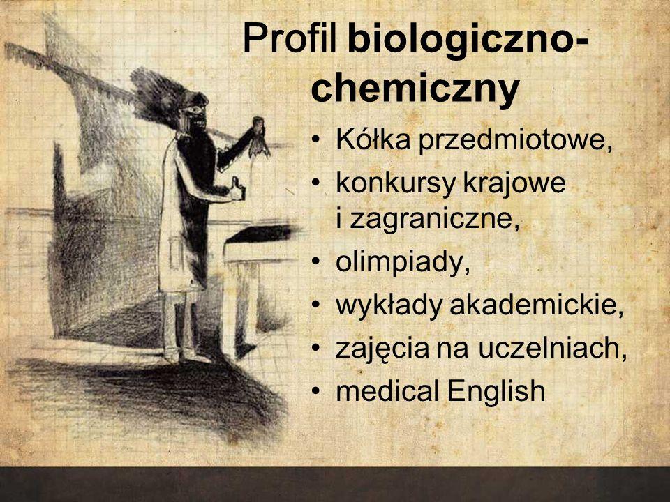 Profil biologiczno-chemiczny