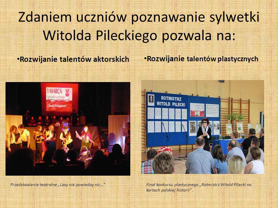 Zdaniem uczniów poznawanie sylwetki Witolda Pileckiego pozwala na: