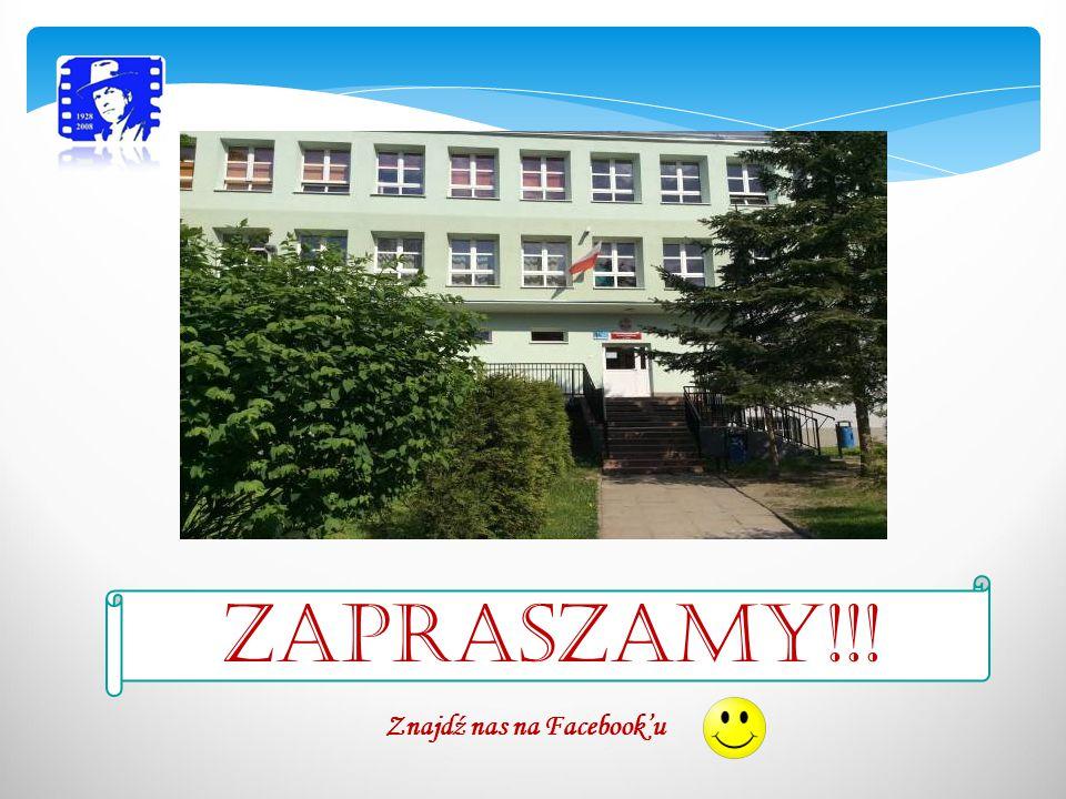 ZAPRASZAMY!!! Znajdź nas na Facebook'u