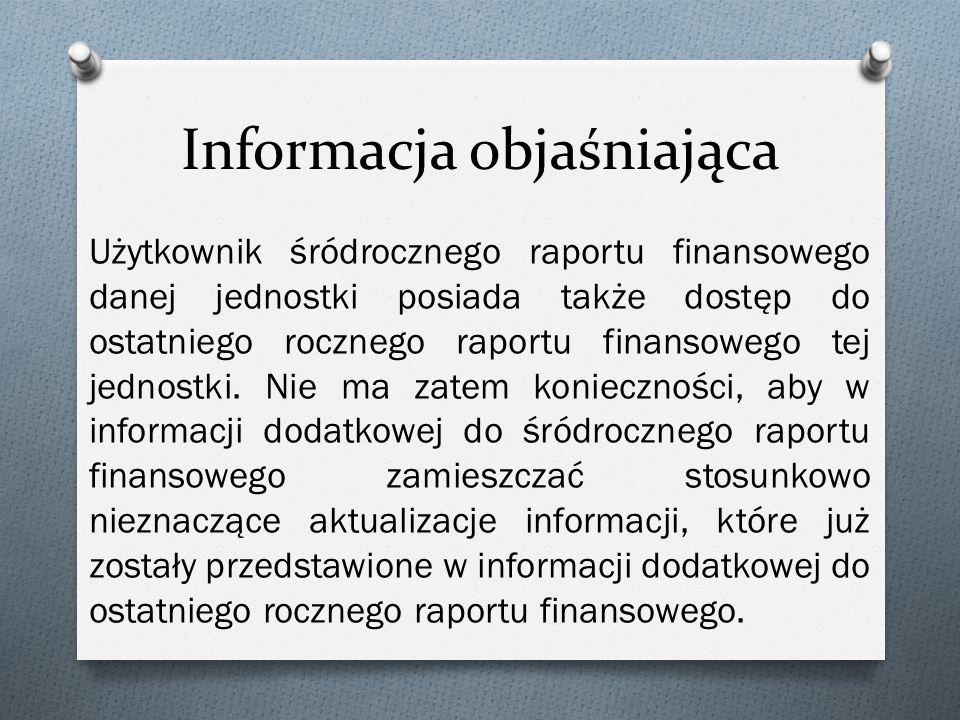 Informacja objaśniająca