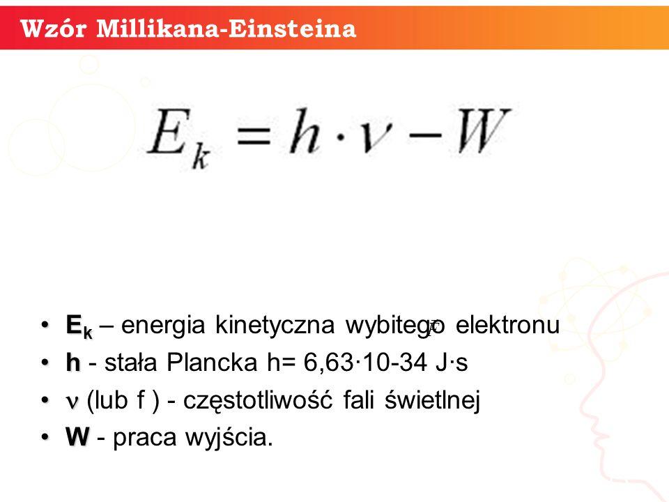 Wzór Millikana-Einsteina
