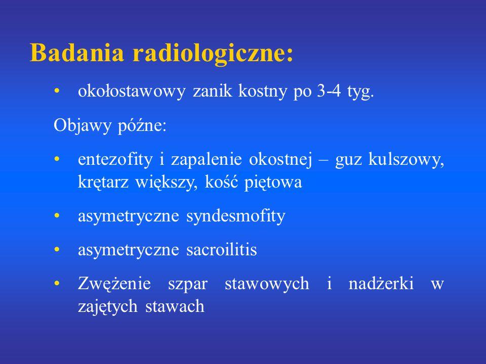 Badania radiologiczne: