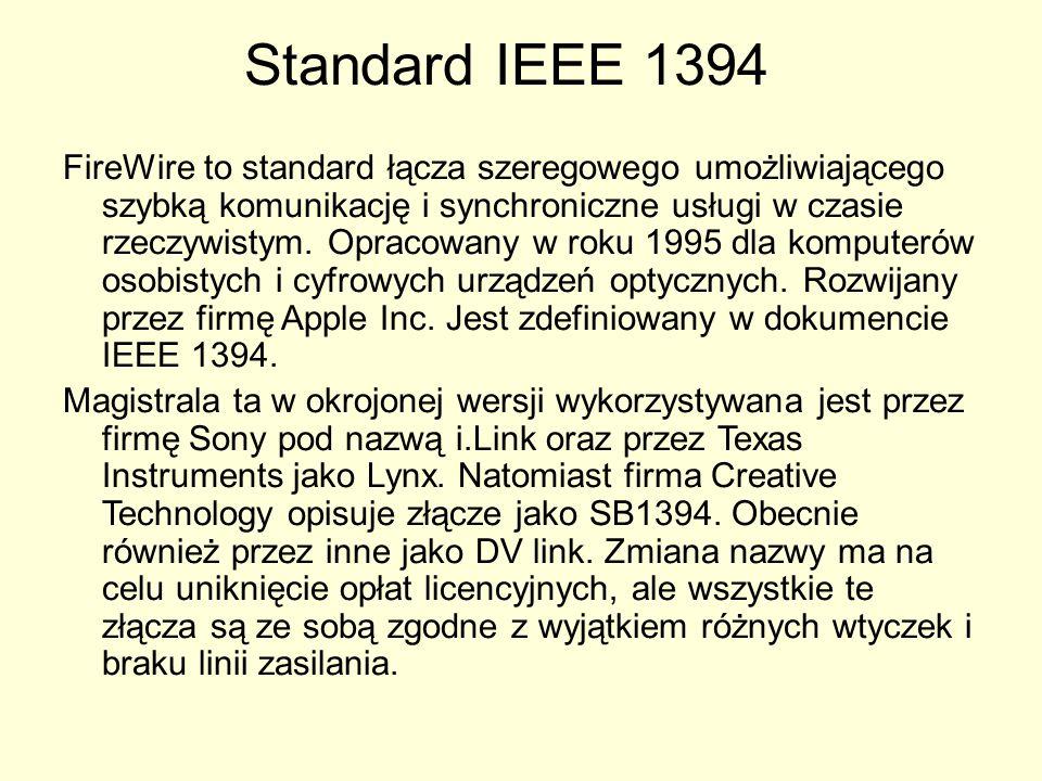 Standard IEEE 1394