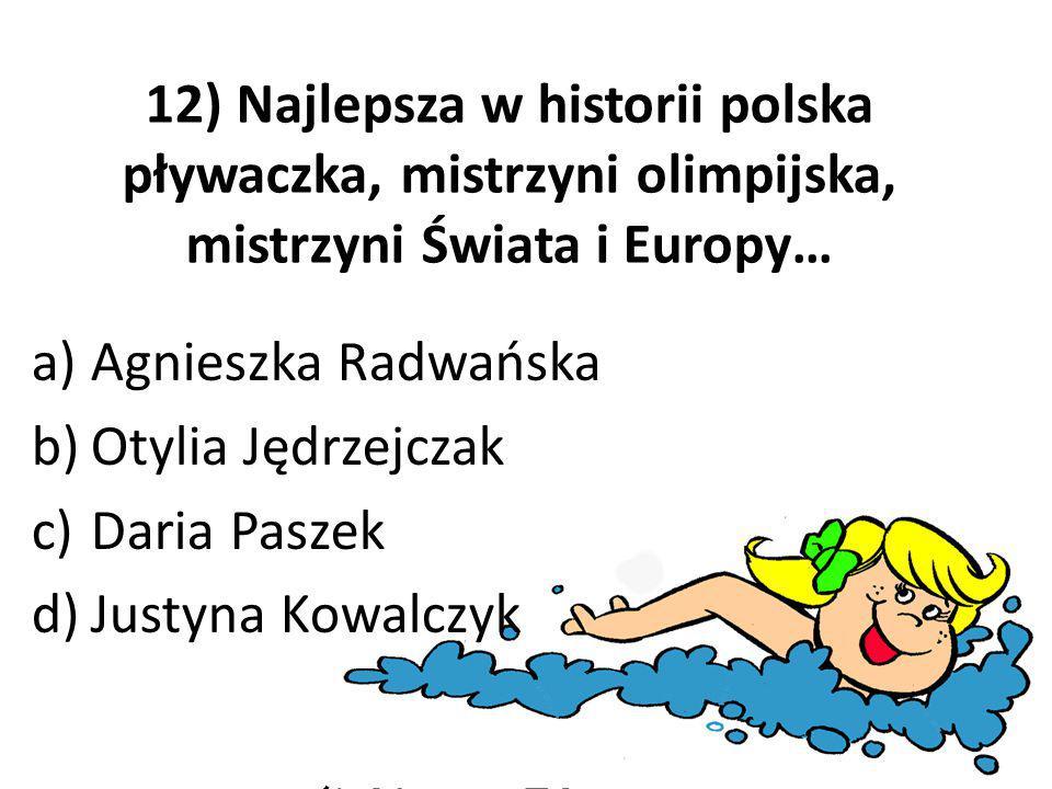 Agnieszka Radwańska Otylia Jędrzejczak Daria Paszek Justyna Kowalczyk