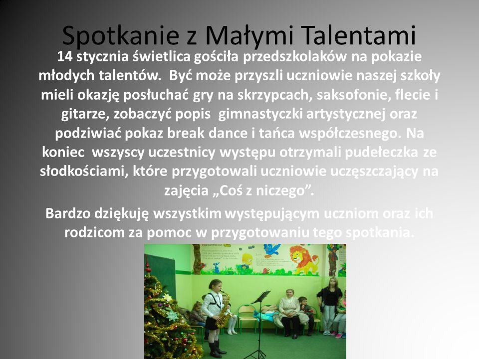 Spotkanie z Małymi Talentami