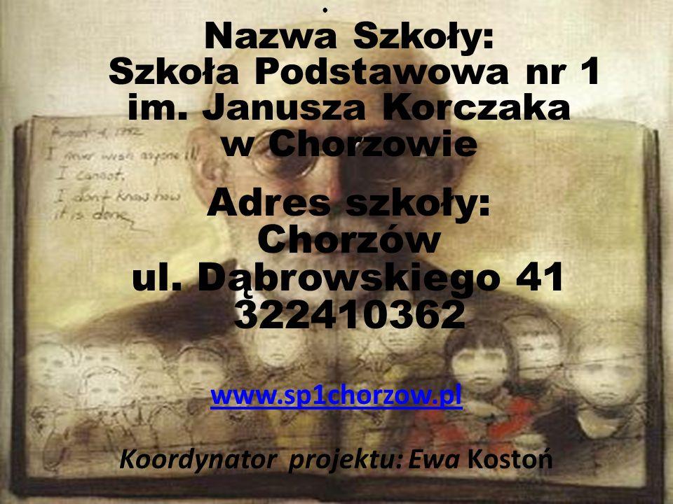 Koordynator projektu: Ewa Kostoń