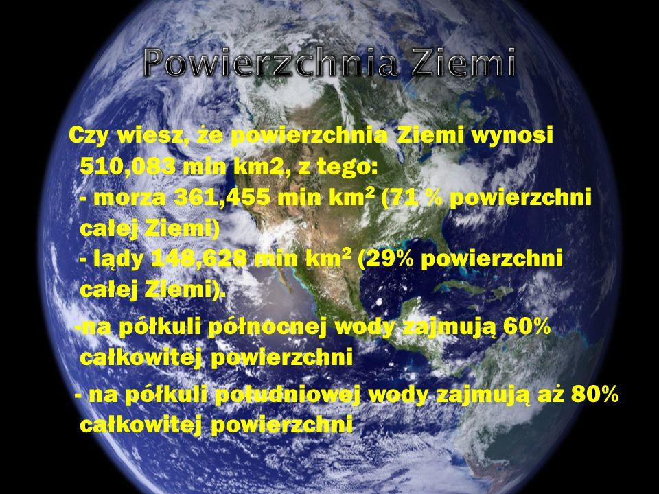Powierzchnia Ziemi