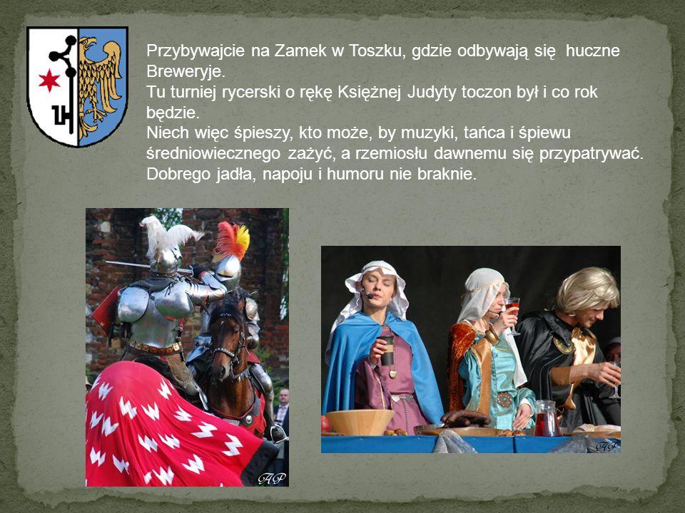 Przybywajcie na Zamek w Toszku, gdzie odbywają się huczne Breweryje.