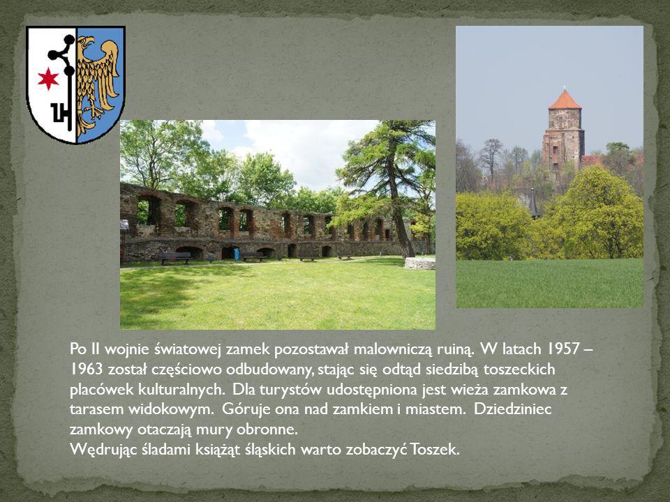 Po II wojnie światowej zamek pozostawał malowniczą ruiną
