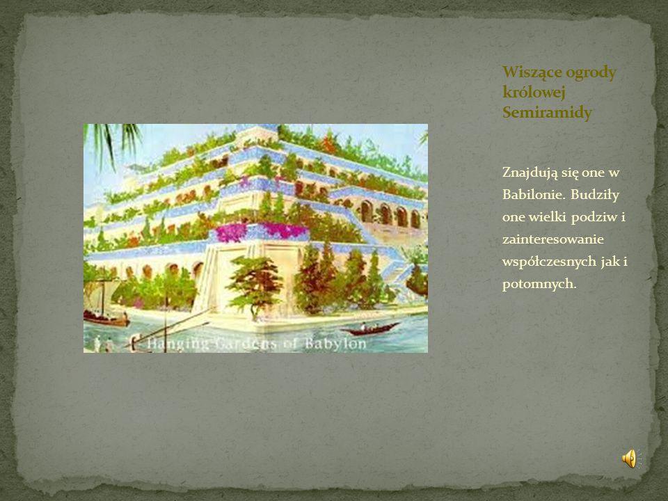 Wiszące ogrody królowej Semiramidy