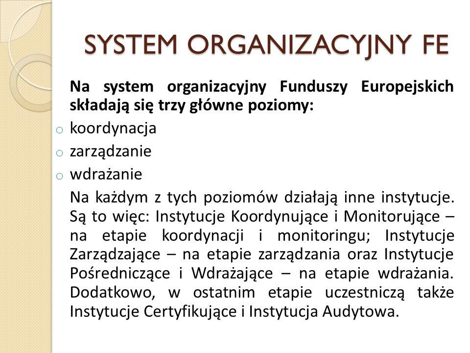 SYSTEM ORGANIZACYJNY FE