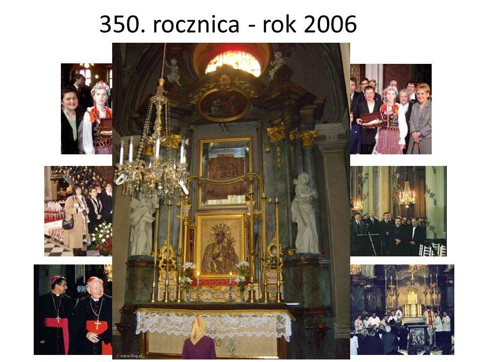 350. rocznica - rok 2006