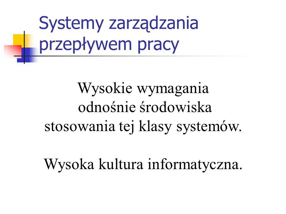 Systemy zarządzania przepływem pracy