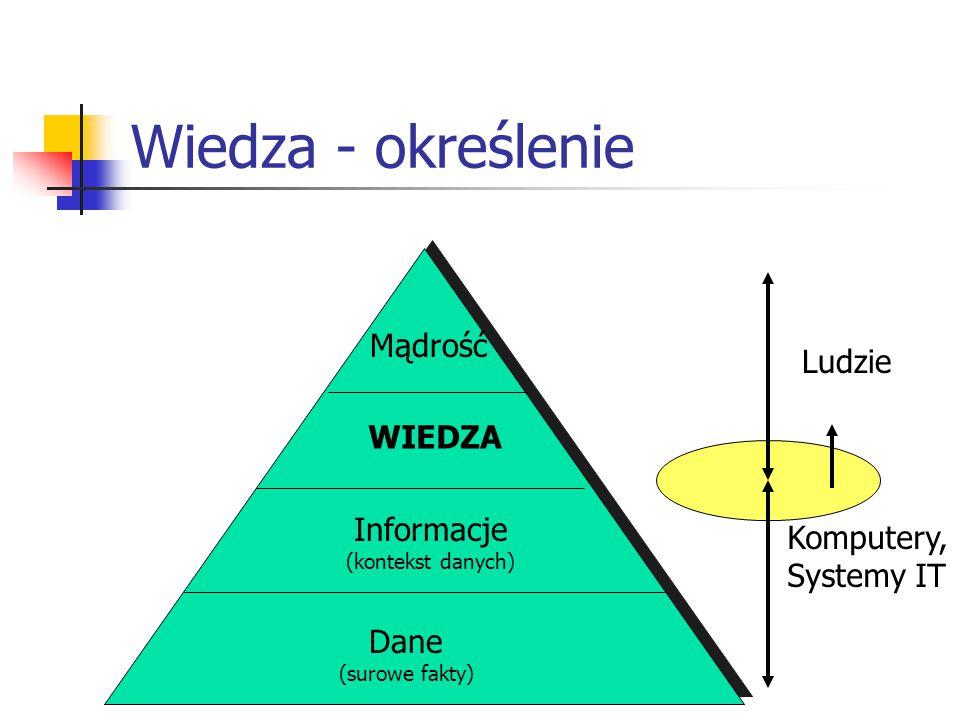 Wiedza - określenie Mądrość Ludzie WIEDZA Informacje Komputery,