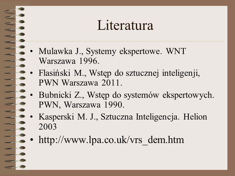 Literatura http://www.lpa.co.uk/vrs_dem.htm