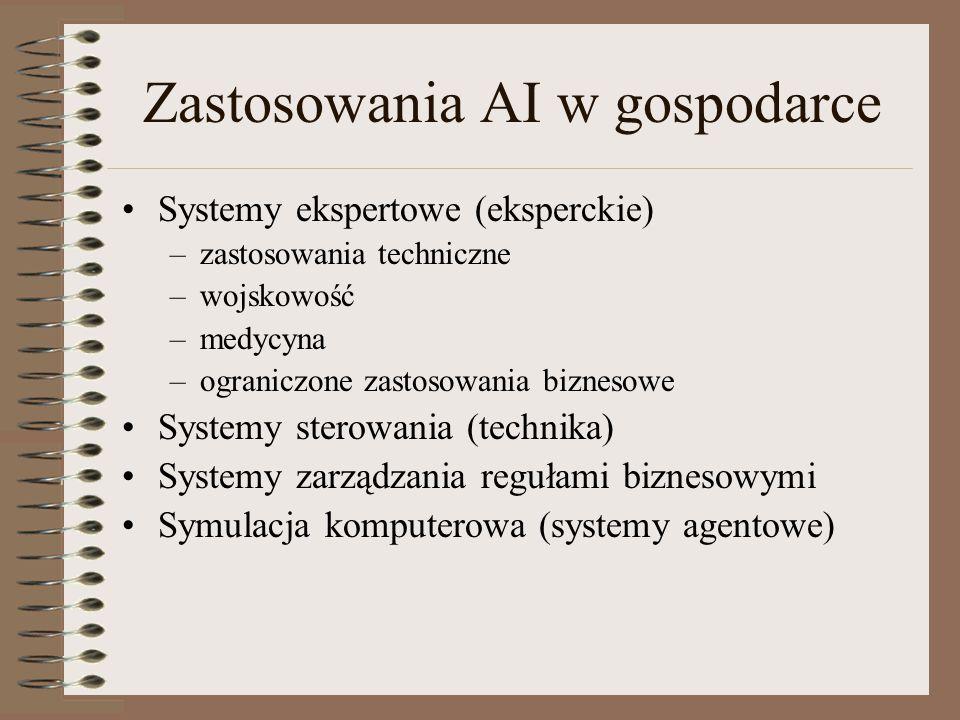Zastosowania AI w gospodarce