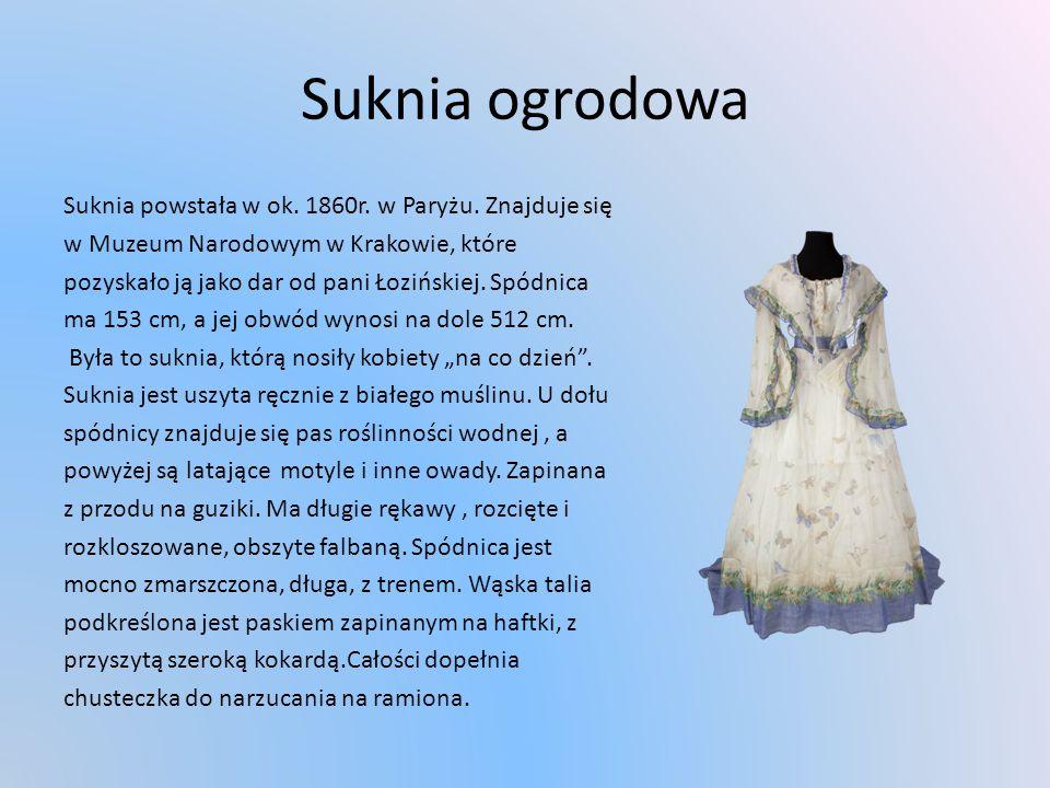 Suknia ogrodowa