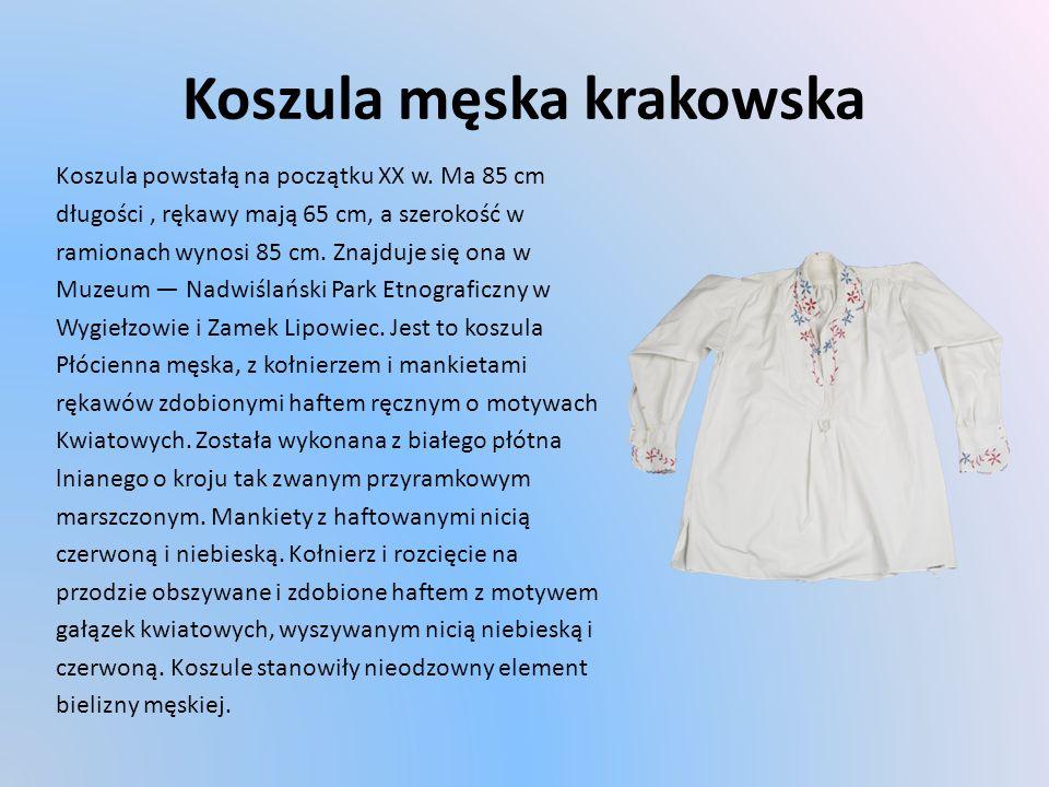 Koszula męska krakowska