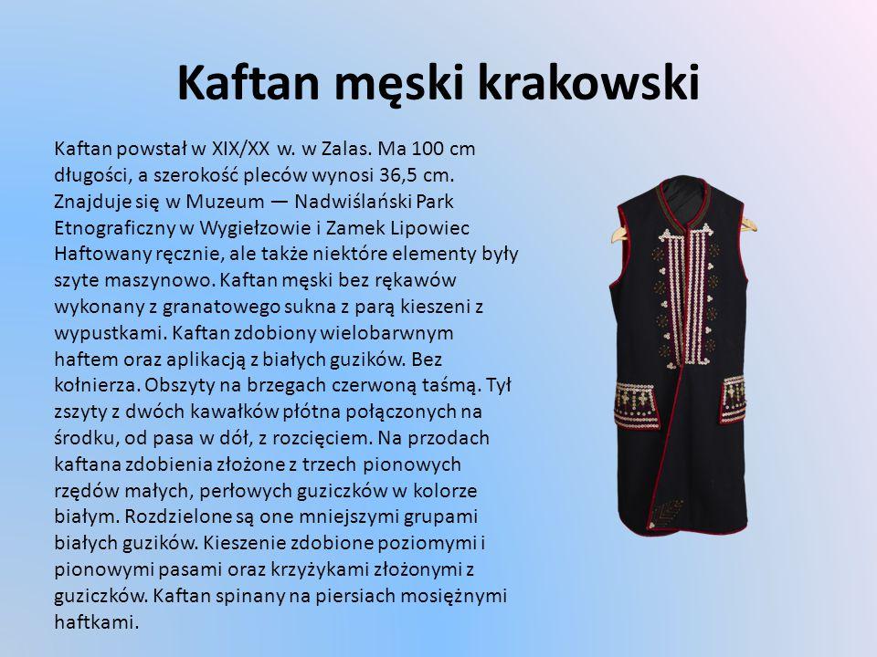 Kaftan męski krakowski