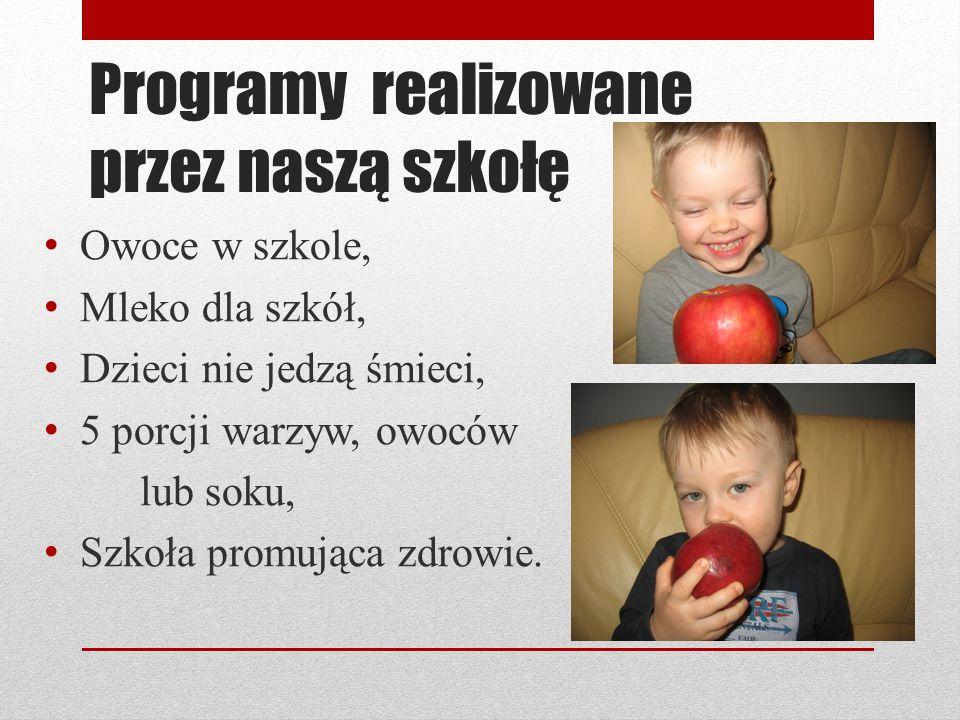 Programy realizowane przez naszą szkołę