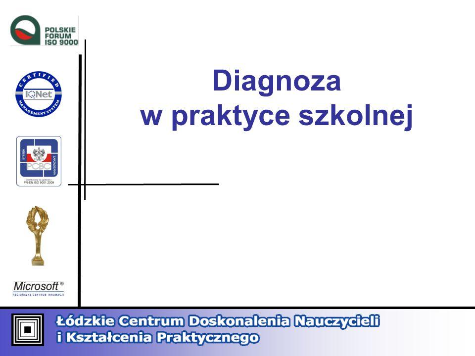 Diagnoza w praktyce szkolnej