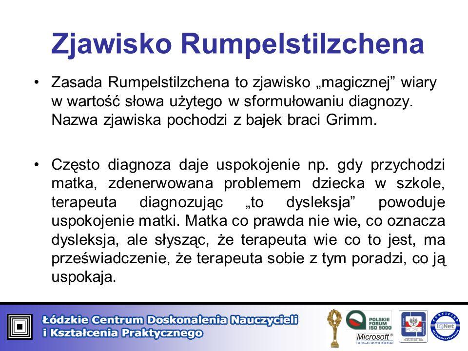 Zjawisko Rumpelstilzchena
