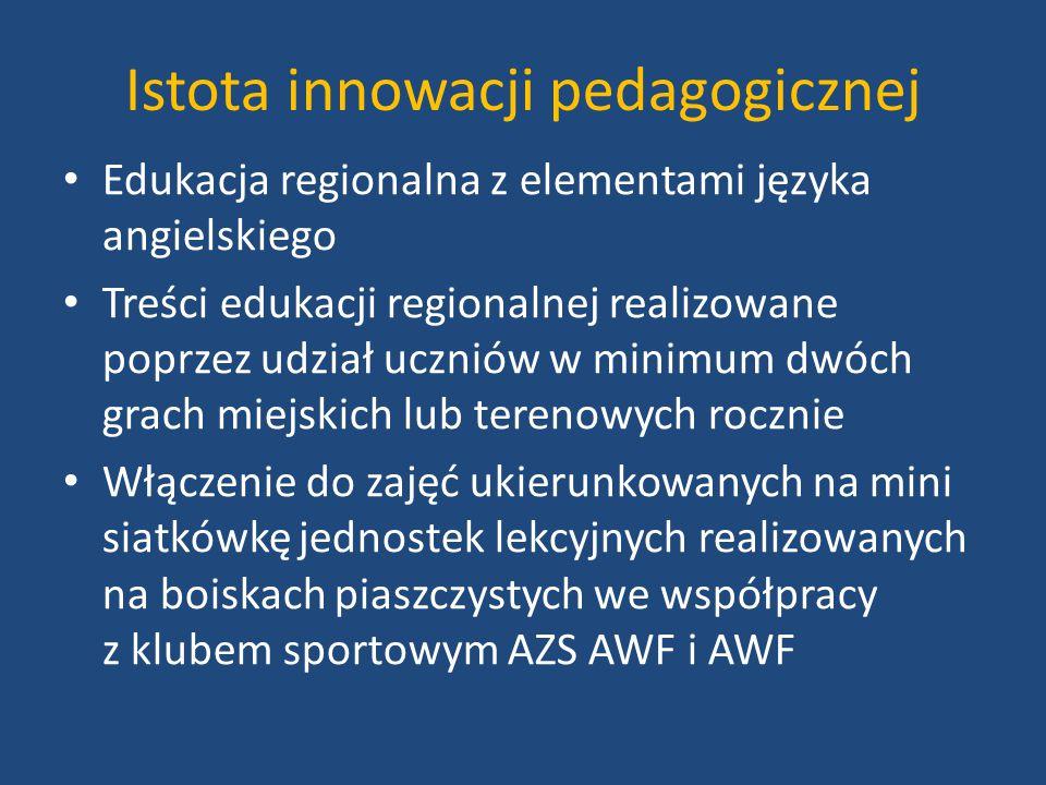 Istota innowacji pedagogicznej