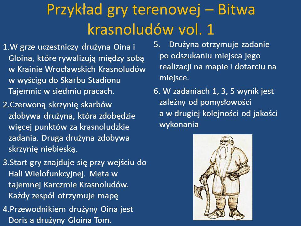 Przykład gry terenowej – Bitwa krasnoludów vol. 1