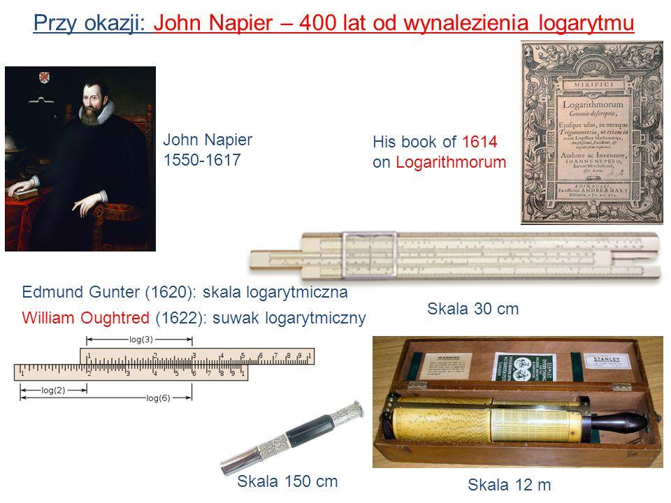 Przy okazji: John Napier – 400 lat od wynalezienia logarytmu