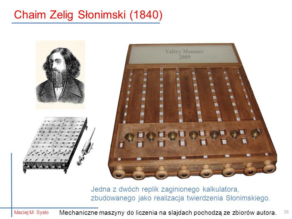 Chaim Zelig Słonimski (1840)