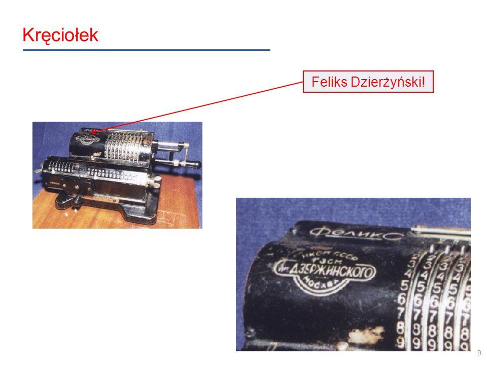 Kręciołek Feliks Dzierżyński! 9