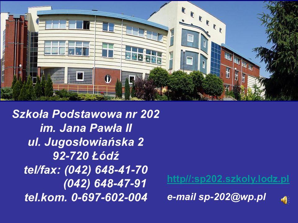 Szkoła Podstawowa nr 202 im. Jana Pawła II ul
