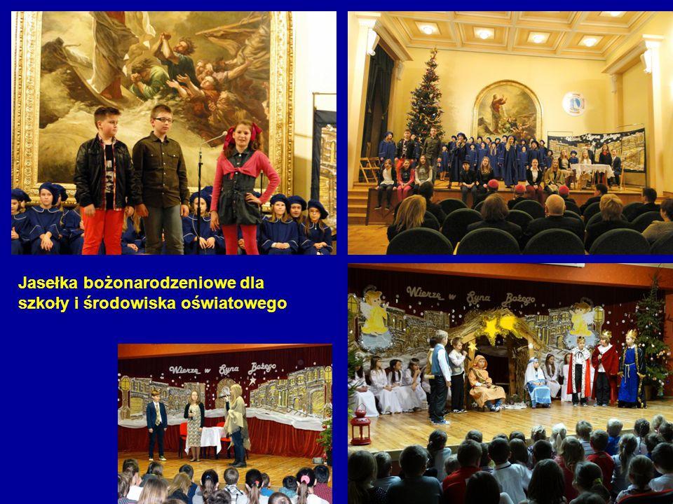 Jasełka bożonarodzeniowe dla szkoły i środowiska oświatowego