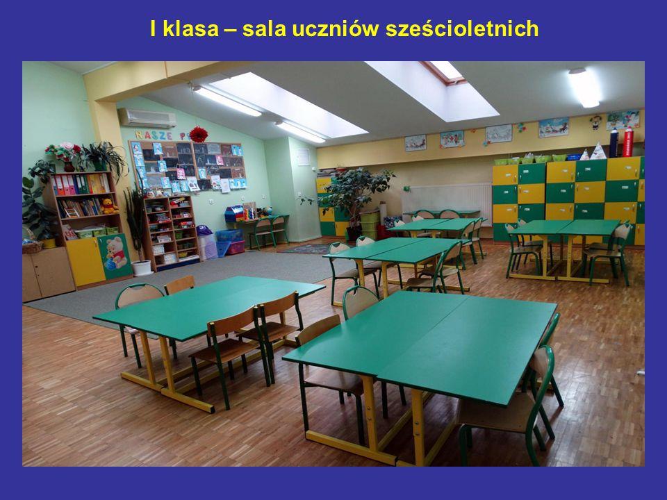 I klasa – sala uczniów sześcioletnich