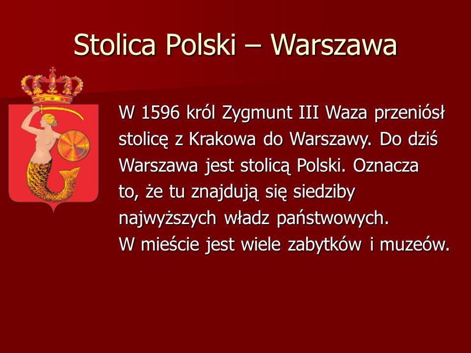 Stolica Polski – Warszawa