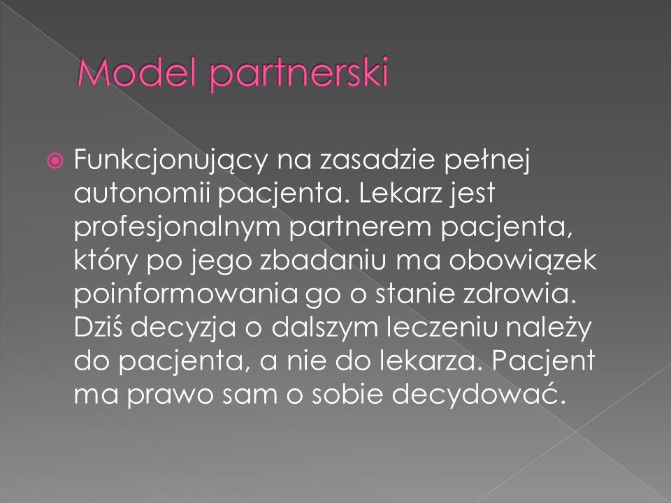 Model partnerski