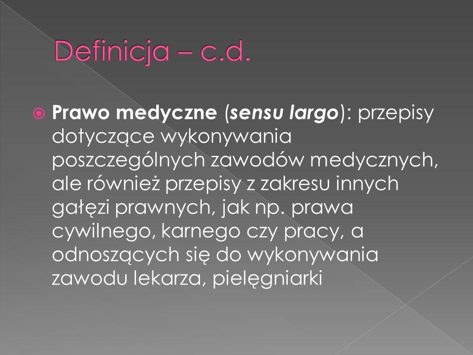 Definicja – c.d.