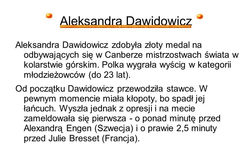 Aleksandra Dawidowicz