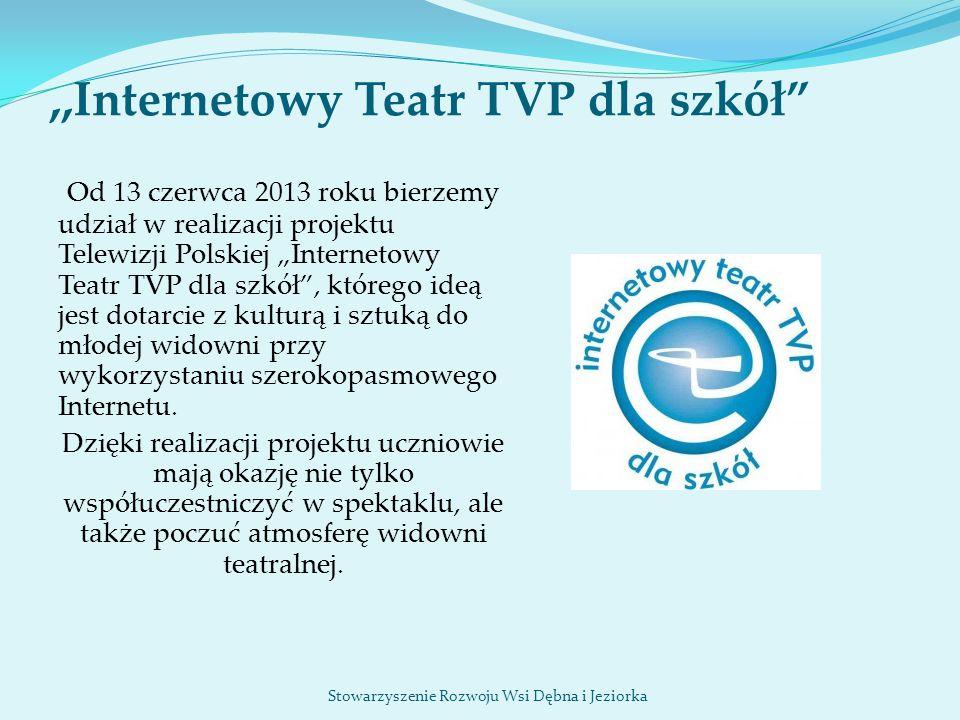 ,,Internetowy Teatr TVP dla szkół