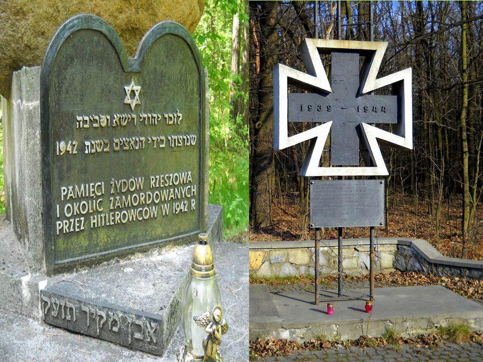 Mogiły poległych Polaków i Żydów