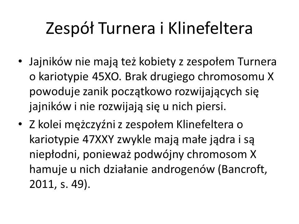 Zespół Turnera i Klinefeltera