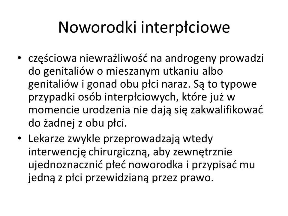 Noworodki interpłciowe