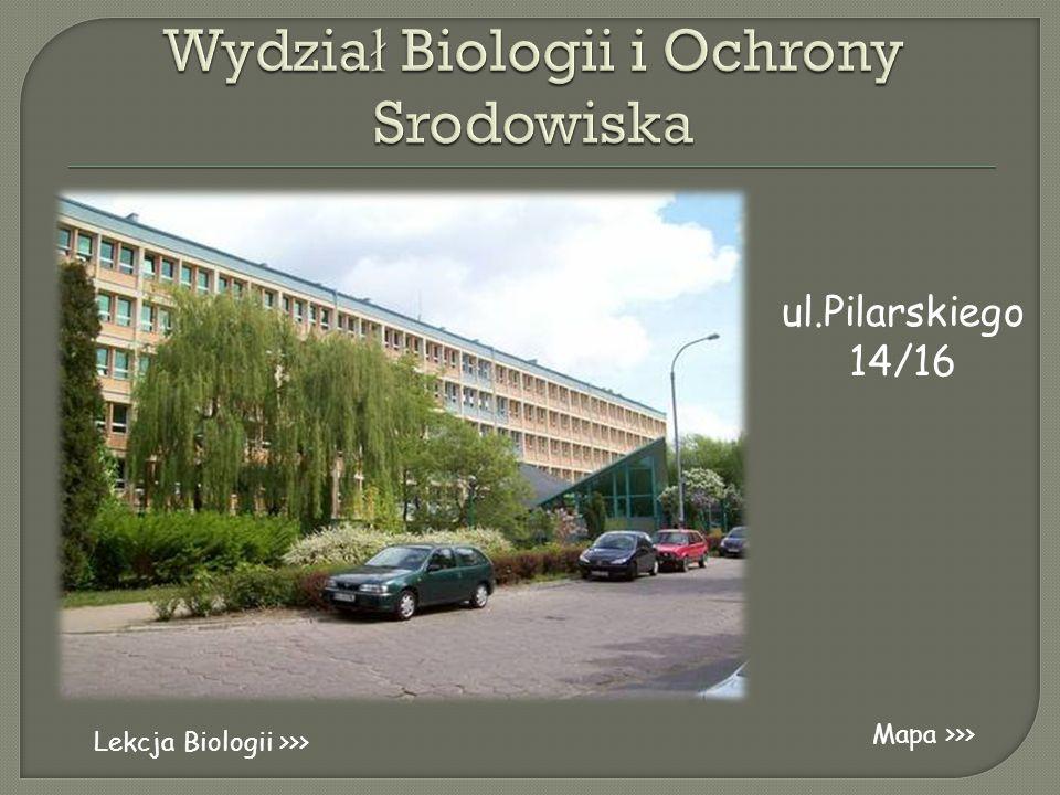 Wydział Biologii i Ochrony Srodowiska